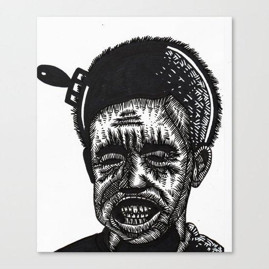 AFRO COMB Canvas Print