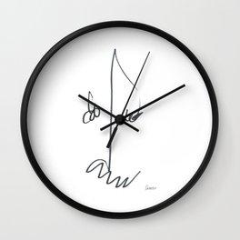 Demeter Moji d18 3-1 w Wall Clock