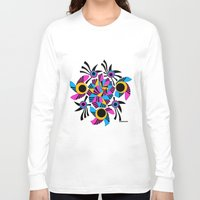 rose Long Sleeve T-shirts featuring - rose - by Magdalla Del Fresto