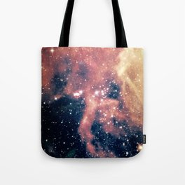 Cool milky way galaxy texture Tote Bag