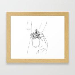 selflove Framed Art Print