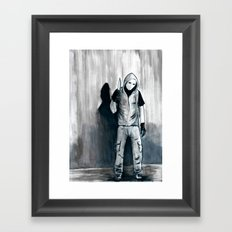 We Shouldn't Have Let Him Watch All Those Giallo Movies When He Was Little Framed Art Print