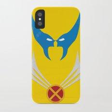 Minimal Wolverine iPhone X Slim Case