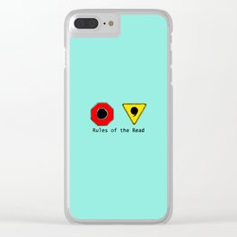 Funny & Unique Gifts for Writers: Rules of the Read Clear iPhone Case