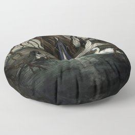 The Norns Floor Pillow