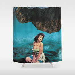 She Is Lawless Shower Curtain