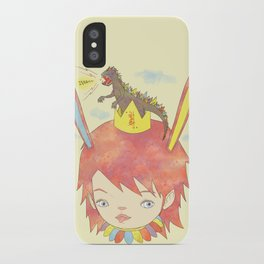 CROWN NEST - GOZILLA KING 고질라킹 iPhone Case