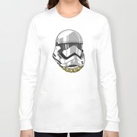 storm trooper Long Sleeve T-shirts featuring Storm Trooper by KODYMASON