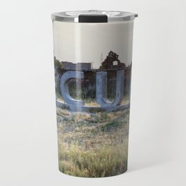 Underwater - Epecuen Sign Travel Mug