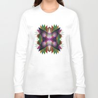 geo Long Sleeve T-shirts featuring Geo by Patrick Cazer