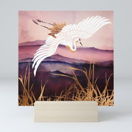 Elegant Flight III Mini Art Print