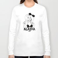 alaska Long Sleeve T-shirts featuring Alaska by Payden Evans