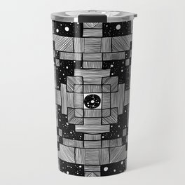 Lines and Spaces Travel Mug