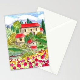 Tuscan Stationery Cards