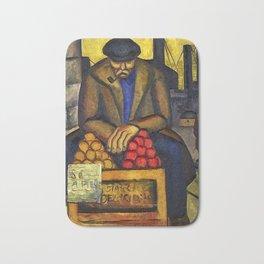 Barbara Stevenson - Apple Vendor Bath Mat