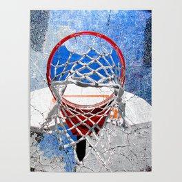 Contemporary basketball 3 Poster