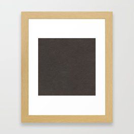 Leather texture Framed Art Print