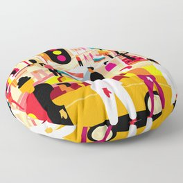 Palm Canyon Boulevard Floor Pillow
