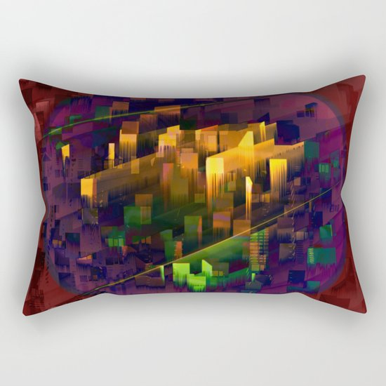 TRAPPIST - Connection II Rectangular Pillow