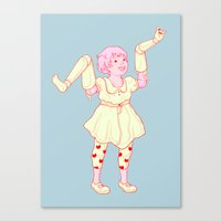 play Canvas Prints featuring Play by Vivian Le