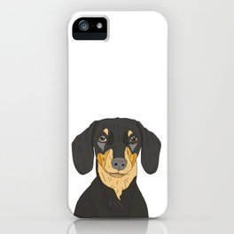 Dachshund Puppy iPhone Case