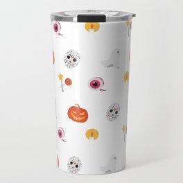 Trick or Treat Happy Halloween Everyone Travel Mug