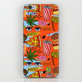 Munchies iPhone Skin