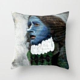 Cyrano/Newspaper Serie Throw Pillow