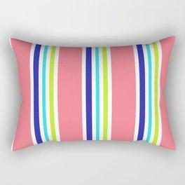 Summery Cool Lines Rectangular Pillow