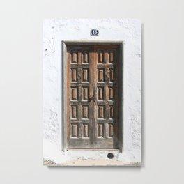Door 13 Metal Print