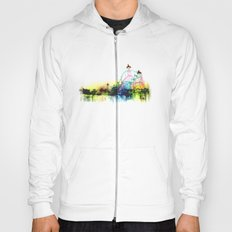 white fair. Hoody