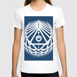 Radiant Abundance (blue-white) T-shirt