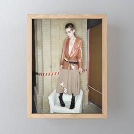Ukrainian Fashion Week Framed Mini Art Print