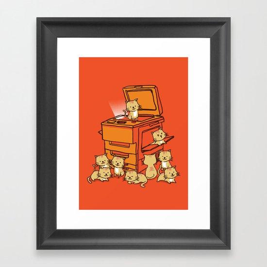 The Original Copycat Framed Art Print