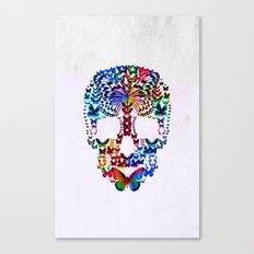 Cranium Butterflies Canvas Print