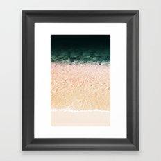 Magic sand Framed Art Print