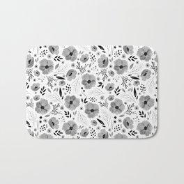 Lovely Little Floral Pattern Bath Mat
