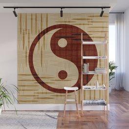Yin Yang, Warp and Weft Wall Mural