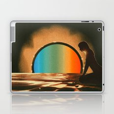 Sunset meditate Laptop & iPad Skin