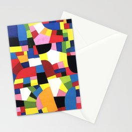 Chartres by Otto Freundlich - Vintage Painting Stationery Cards