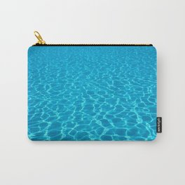 Swimming pool water sun reflection. Ripple Water. Carry-All Pouch