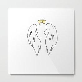 Lost Wings Metal Print