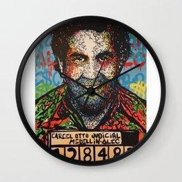 Pablo Emilio Escobar Gaviria - Colombian drug lord Wall Clock