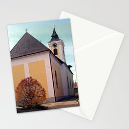 The village church of Putzleinsdorf I | architectural photography Stationery Cards