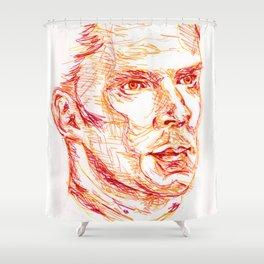 Inktober #18 Shower Curtain