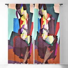 12,000pixel-500dpi - Motherhood, Angelina And The Child Diego - Diego Rivera Blackout Curtain