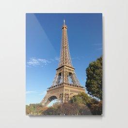Ahhhh! Autumn in Paris! Metal Print