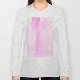 pink pastel with golden dots Long Sleeve T-shirt