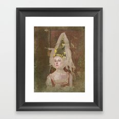 Nina (Vampire Ball) Framed Art Print