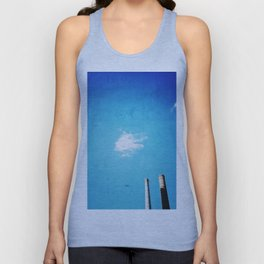 Helicopter Unisex Tank Top